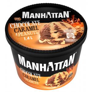 Schöller Manhattan csoki-karamell-mogyoró 1400ml