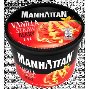 Schöller Manhattan vaníila-eper 1400ml
